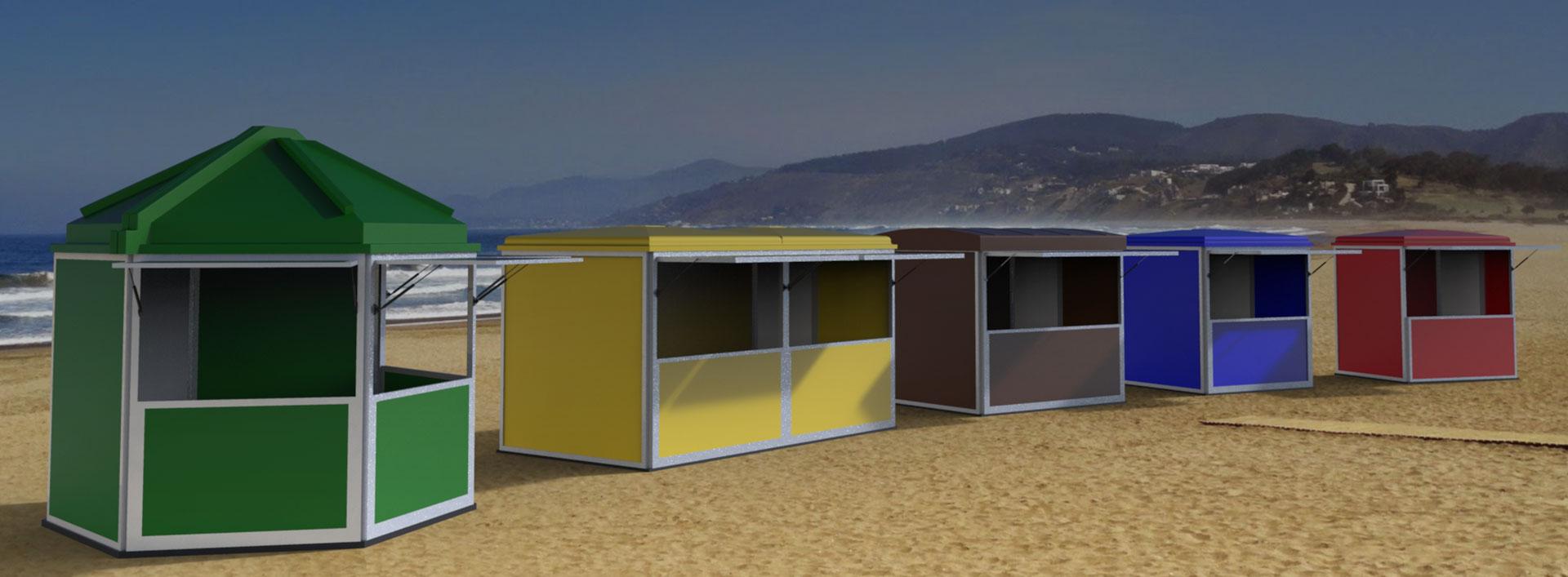 Kioscos para tu negocio en Verano